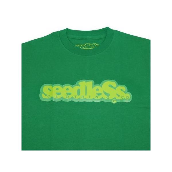 SeedleSs シードレス COOP REGULAR TEE-GREEN-|steelo|02