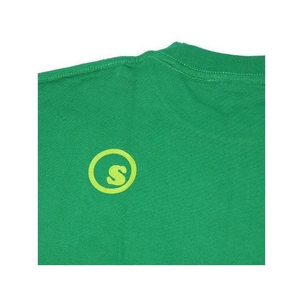 SeedleSs シードレス COOP REGULAR TEE-GREEN-|steelo|04