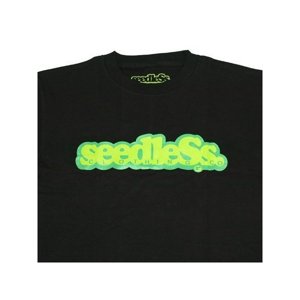 SeedleSs シードレス COOP REGULAR TEE-BLACK-|steelo|02