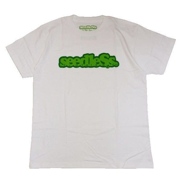 SeedleSs シードレス COOP REGULAR TEE-WHITE-|steelo|01