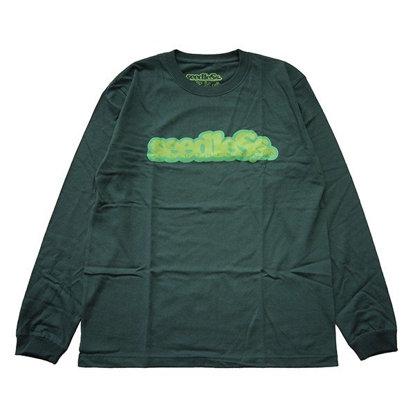 SeedleSs シードレス  COOP REGULAR L/S TEE|steelo|04