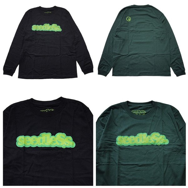 SeedleSs シードレス  COOP REGULAR L/S TEE|steelo|06