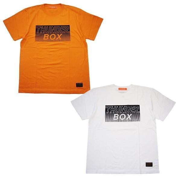 THUNDER BOX サンダーボックス URA TB LOGO TEE|steelo