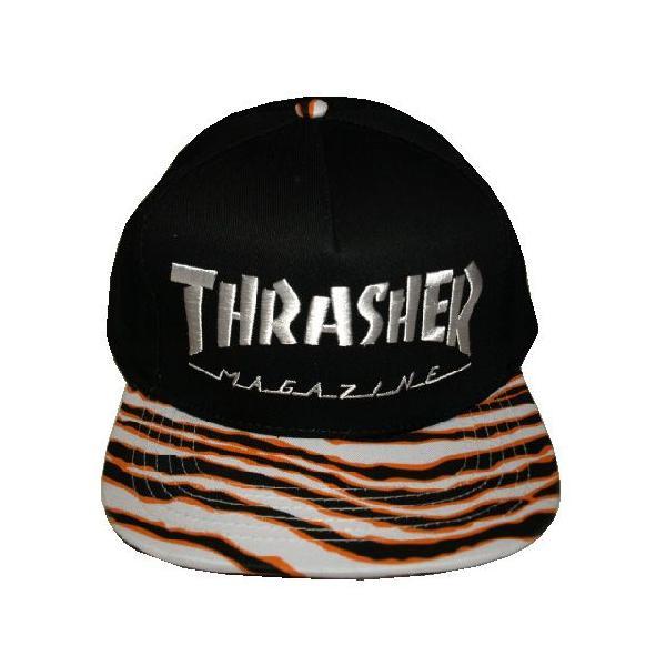 THRASHER スラッシャー TIGER STRIPE SNAPBACK|steelo