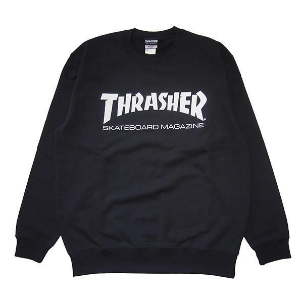 THRASHER スラッシャー MAG LOGO CREW SWEAT steelo 02