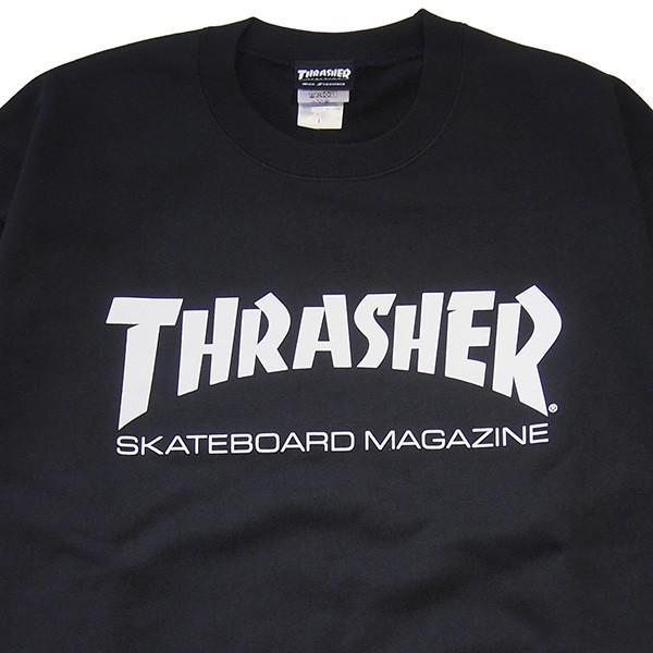 THRASHER スラッシャー MAG LOGO CREW SWEAT steelo 03
