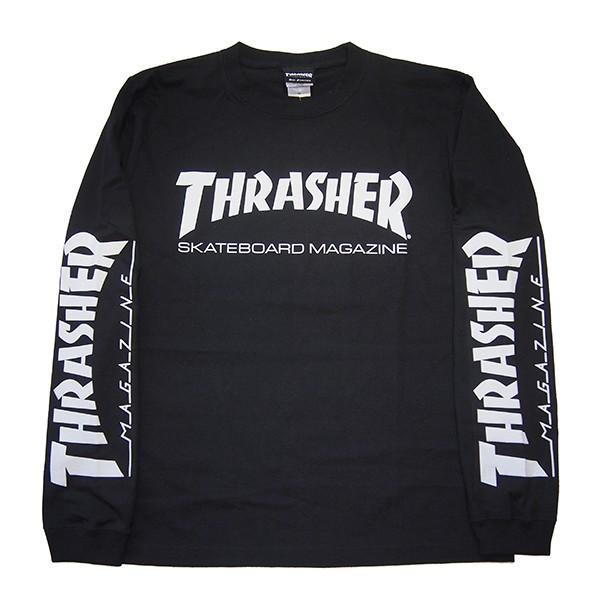 THRASHER スラッシャー MAG SLEEVE L/S TEE|steelo|02