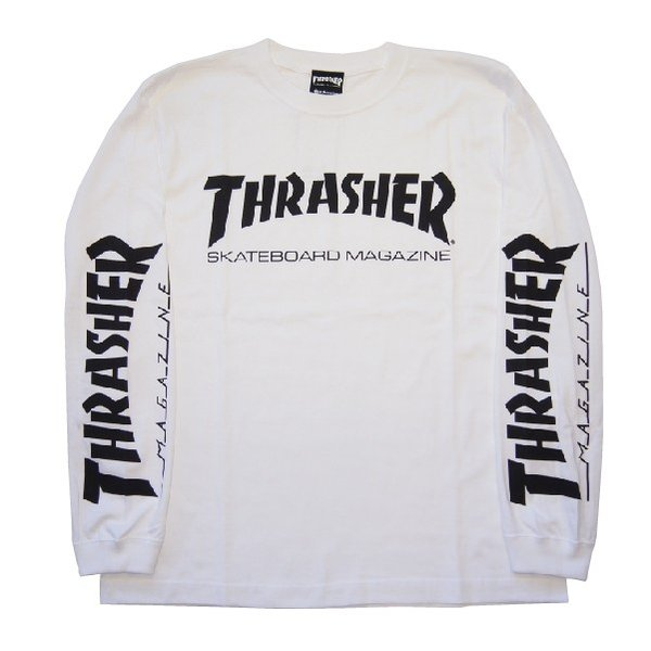 THRASHER スラッシャー MAG SLEEVE L/S TEE|steelo|03