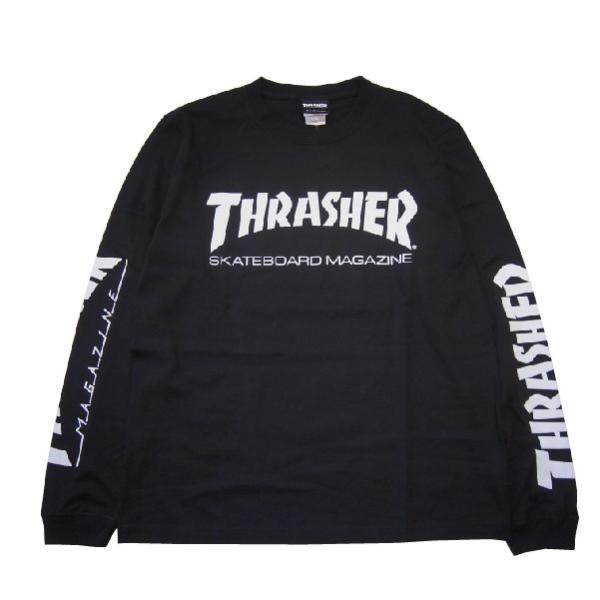 THRASHER スラッシャー MAG SLEEVE L/S TEE|steelo|04