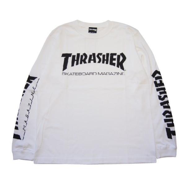 THRASHER スラッシャー MAG SLEEVE L/S TEE|steelo|05