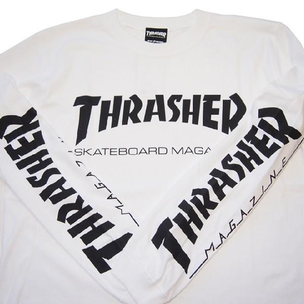 THRASHER スラッシャー MAG SLEEVE L/S TEE|steelo|07