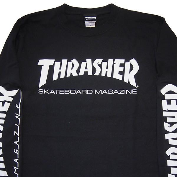 THRASHER スラッシャー MAG SLEEVE L/S TEE|steelo|08