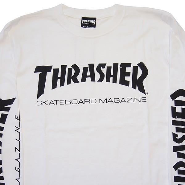 THRASHER スラッシャー MAG SLEEVE L/S TEE|steelo|09