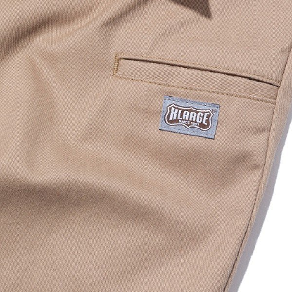 X-LARGE エクストララージ  SIDE POCKET WORK PANT|steelo|03