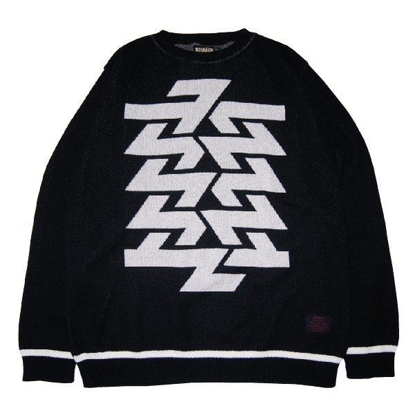ZEPHYREN ゼファレン BIG JAGUARD KNIT -Cut the world-|steelo