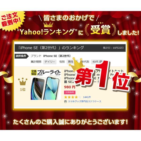 iPhoneXS iPhone8 iPhone7 ブルーライトカット 強化ガラスフィルム iPhoneXR XSMax iPhoneX iPhone8Plus iPhone6 iPhoneSE stellacase 02