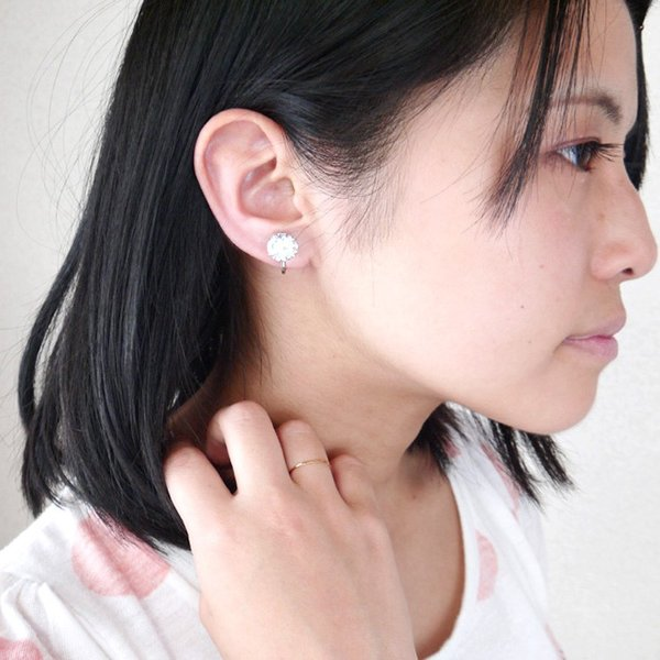 在庫処分 イヤリング ステンレス 金属アレルギー対応 クラウンジュエルステンレスイヤリング 両耳用 イアリング イヤーカフイヤーカフス レディース メール便|stency-nana|11