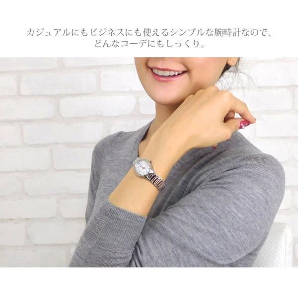 ステンレス腕時計 Stency サージカルステンレス製 シェル文字盤 細身の腕時計 選べるカラー ファッションウォッチ 金属アレルギー|stency-nana|07