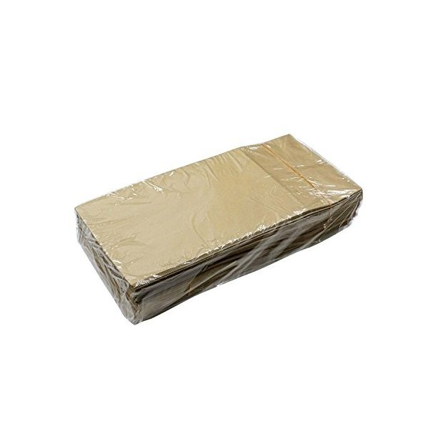 ヘイコー 紙袋 角底袋 No.4 クラフト 13x8x23.5cm 100枚|steppers|03