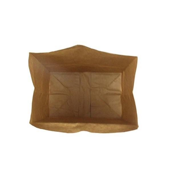 ヘイコー 紙袋 角底袋 No.4 クラフト 13x8x23.5cm 100枚|steppers|05