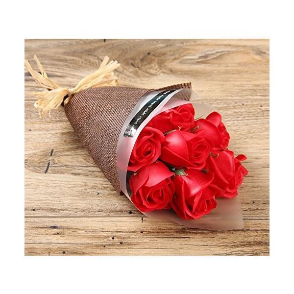 KIZAWA  枯れない花 ソープ フラワー 大切な人 へ 感謝 の 気持ち を 伝える 花束 ( 母の日 ・ バレンタイン ・ ホワイトデー ・ 入学 ・ 卒業 ・ 誕生 steppers 02