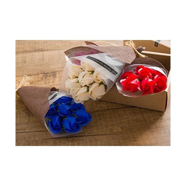 KIZAWA  枯れない花 ソープ フラワー 大切な人 へ 感謝 の 気持ち を 伝える 花束 ( 母の日 ・ バレンタイン ・ ホワイトデー ・ 入学 ・ 卒業 ・ 誕生 steppers 06