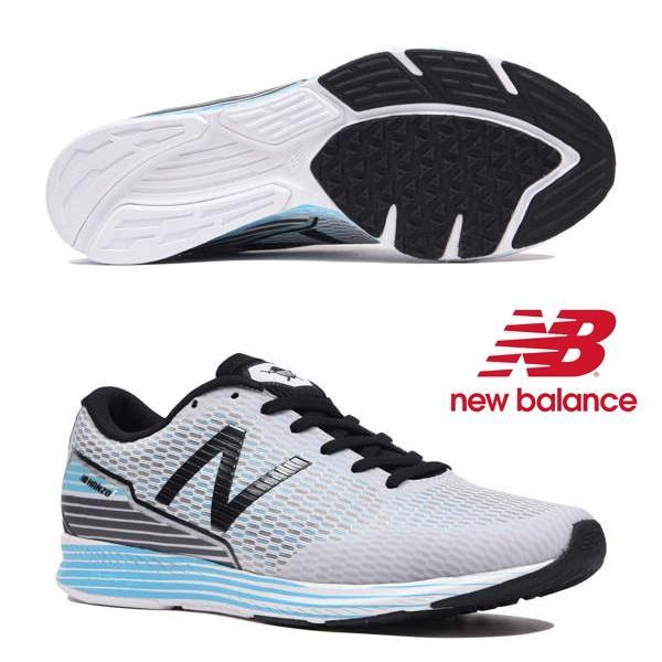 【ニューバランス】new balance NB HANZOT M【NB ハンゾー T M】S2(SILVER/BLUE)(ワイズ:D) メンズ ランニングシューズ 19FW cat-run