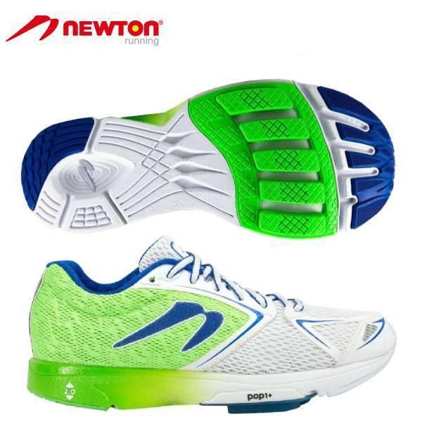 ニュートン ランニング シューズ ディスタンス6 W000617 newton WOMEN'S DISTANCE VI レディース フォアフット 靴 緑/白 17AW