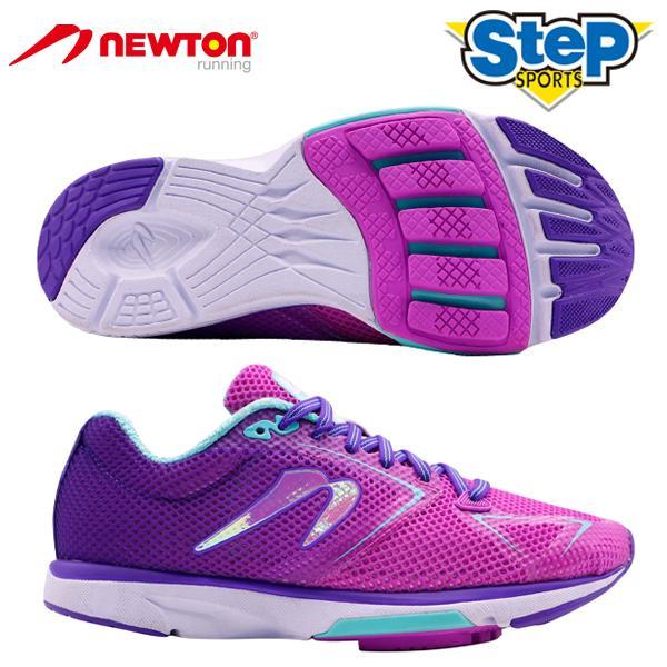 ニュートン ランニングシューズ ディスタンス9 W000620B newton DISTANCE 9 レディース フォアフット 靴 パープル 20AW cat-run