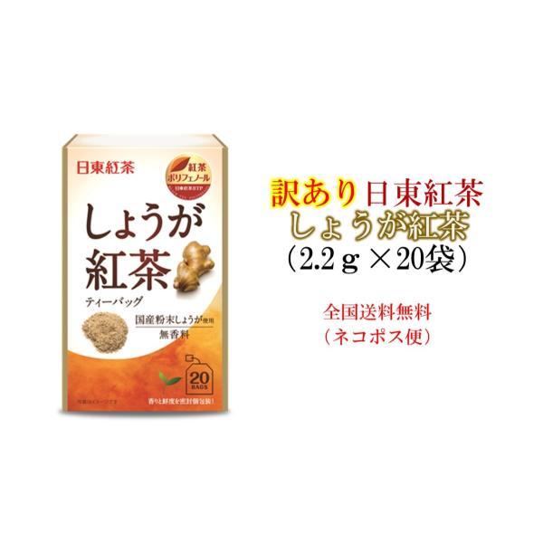 訳あり日東紅茶しょうが紅茶(2.2g×20袋)
