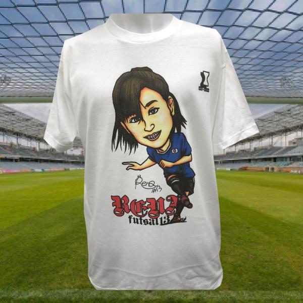 鳥海玲奈選手 アスリートサポートTシャツ (ホワイト)|stilebuono