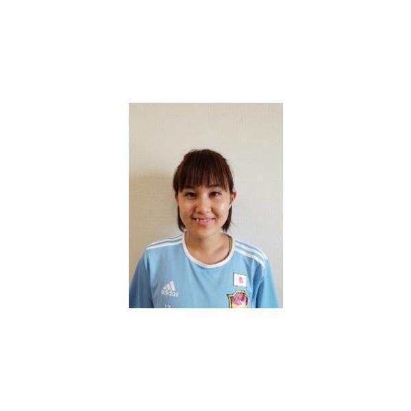 鳥海玲奈選手 アスリートサポートTシャツ (ホワイト)|stilebuono|03