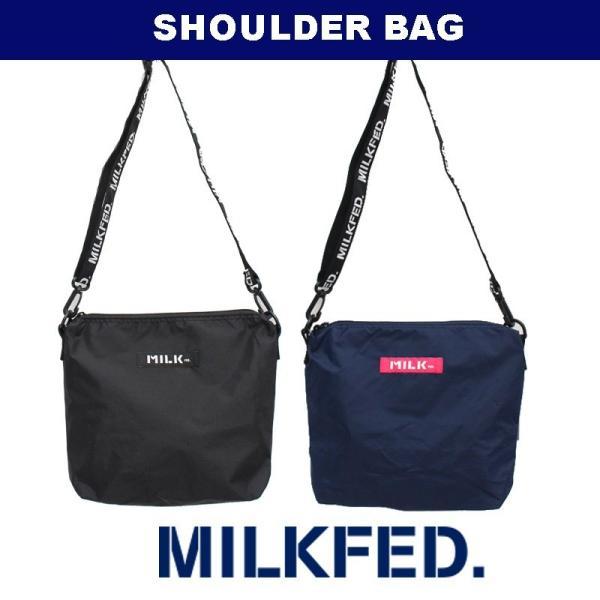 MILKFED.(ミルクフェド) SHOULDER BAG 03172023 ショルダーバッグ サコッシュ 【正規販売店】
