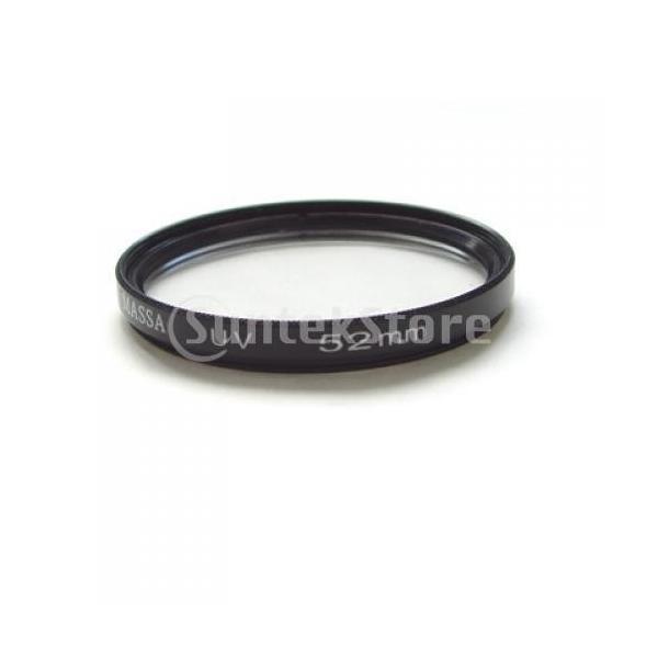 マサ52mm uv保護レンズフィルター、キャノンデジタルビデオカメラ用