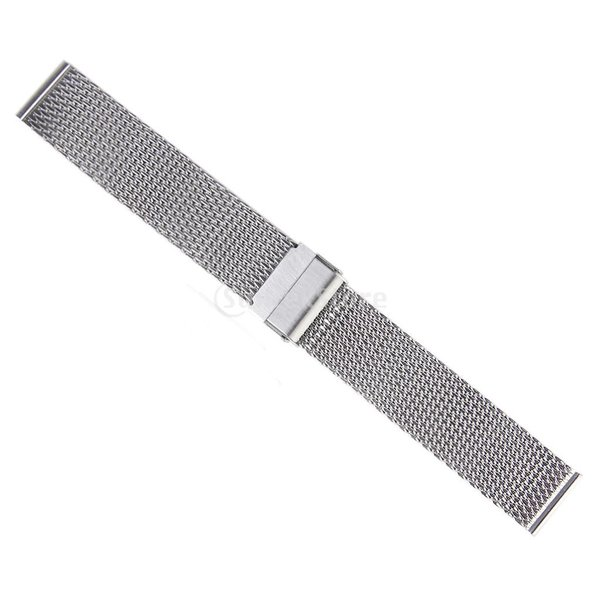 ステンレス鋼メッシュ腕時計バンド
