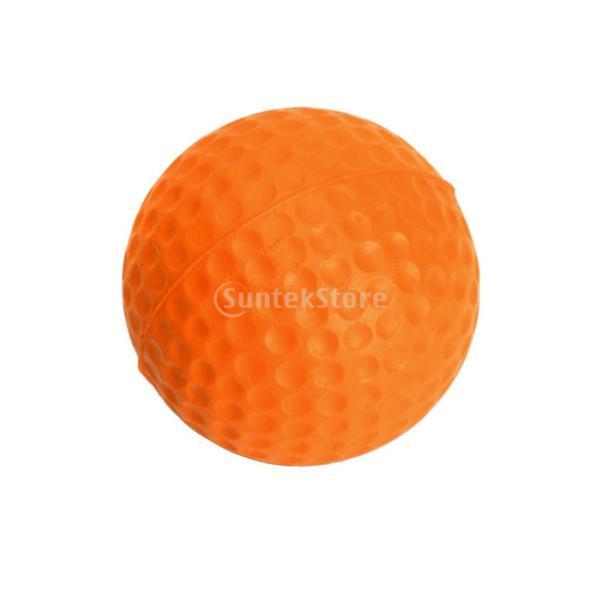 ゴルフボール 練習球  ゴルフトレーニングソフトボール PU製 練習用 (オレンジ)|stk-shop|12