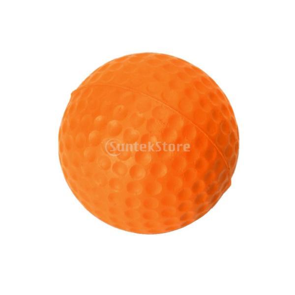 ゴルフボール 練習球  ゴルフトレーニングソフトボール PU製 練習用 (オレンジ)|stk-shop|13