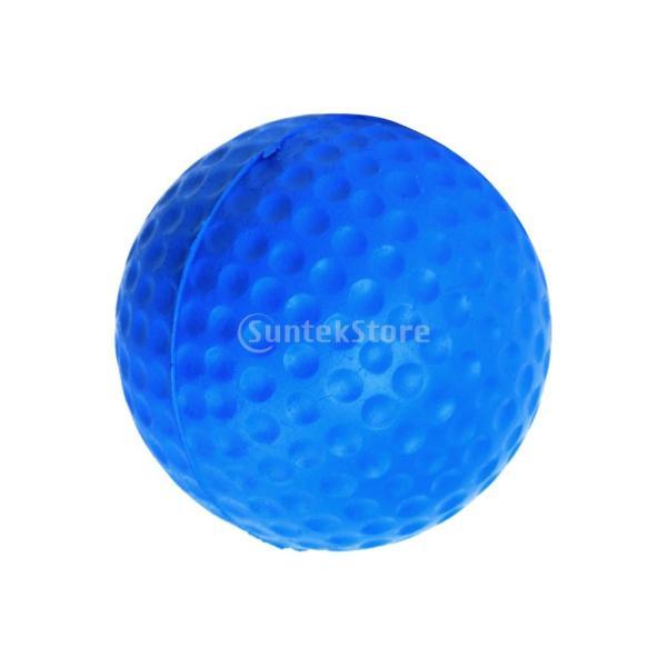ゴルフボール 練習球  ゴルフトレーニングソフトボール PU製 練習用 (ブルー)|stk-shop|12