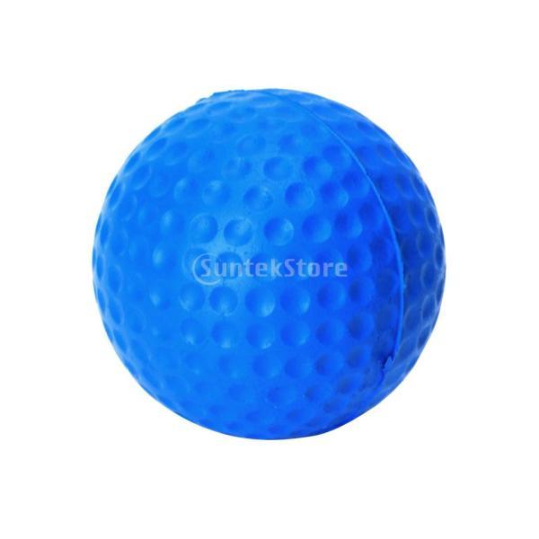 ゴルフボール 練習球  ゴルフトレーニングソフトボール PU製 練習用 (ブルー)|stk-shop|13