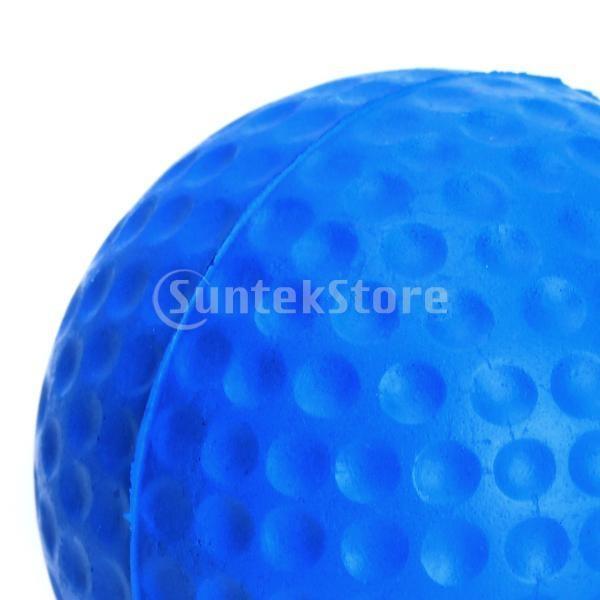 ゴルフボール 練習球  ゴルフトレーニングソフトボール PU製 練習用 (ブルー)|stk-shop|05
