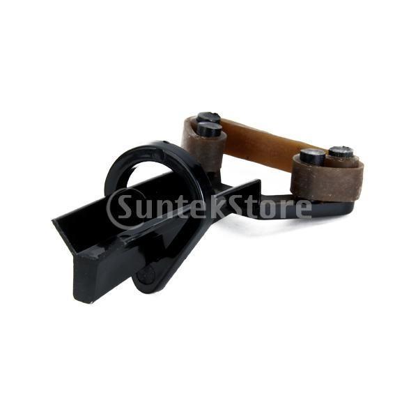 ビリヤード プールキューチップクランプ ファスナー修復ツール ブラック