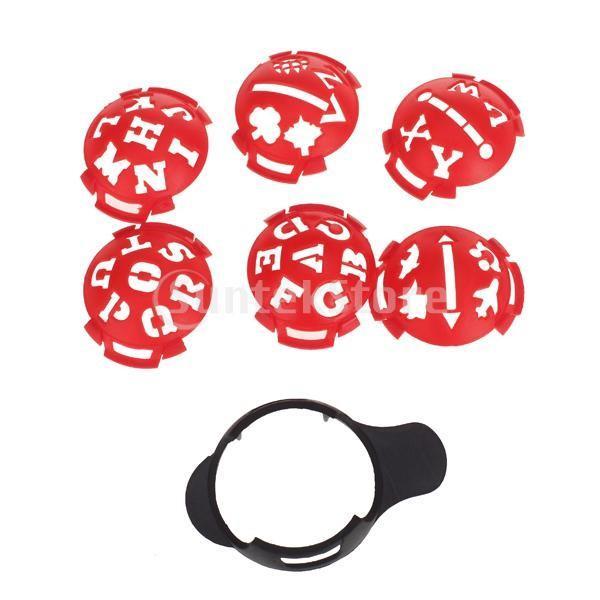 ノーブランド品ゴルフ ボール マーカー テンプレート マルチテンプレート|stk-shop
