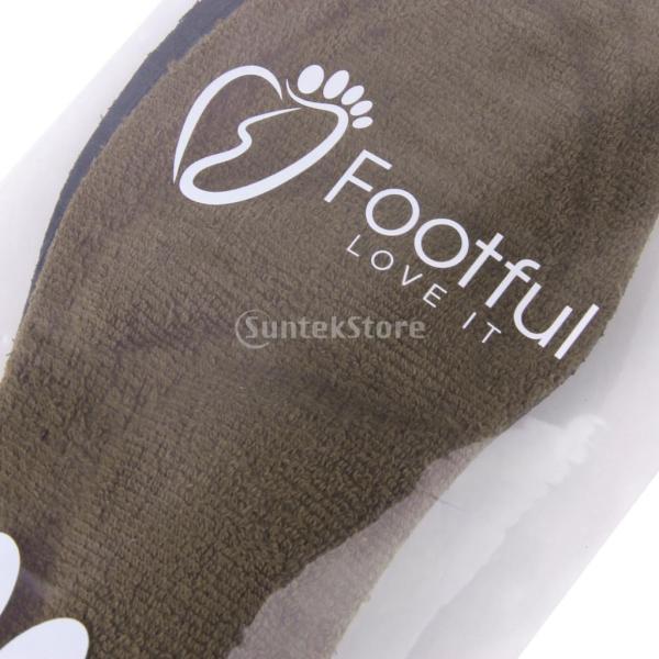 【Footful】インソール 中敷き 男性用  疲れ和らげ 衝撃吸収 ヒール カット可能