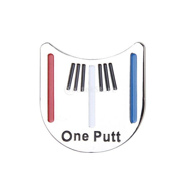 ゴルフ帽子クリップ クリップ 磁気ボールマーカー キャップ クリップ マーカー  ゴルフ 3.2×3.1cm