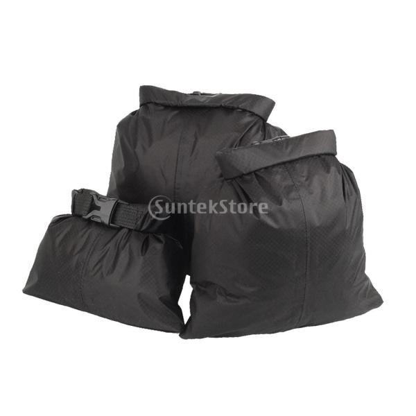 ドライバッグ ドライチューブ 防水 3点セット 防水性ドライサック ドライバッグ 収納袋 ポーチ