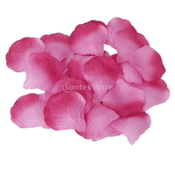 100枚 バラの花びら フラワーシ...