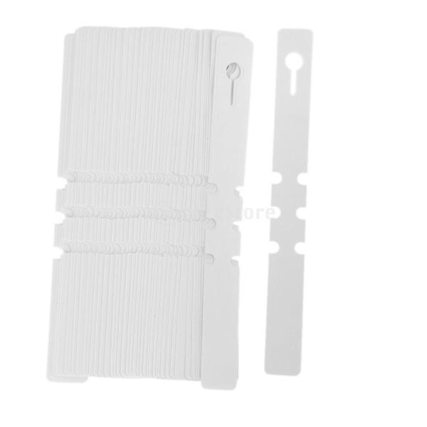 ノーブランド品温室 園芸 ガーデニング用 PVC製 ハンギング タグ ラベル 園芸用品 100個 stk-shop