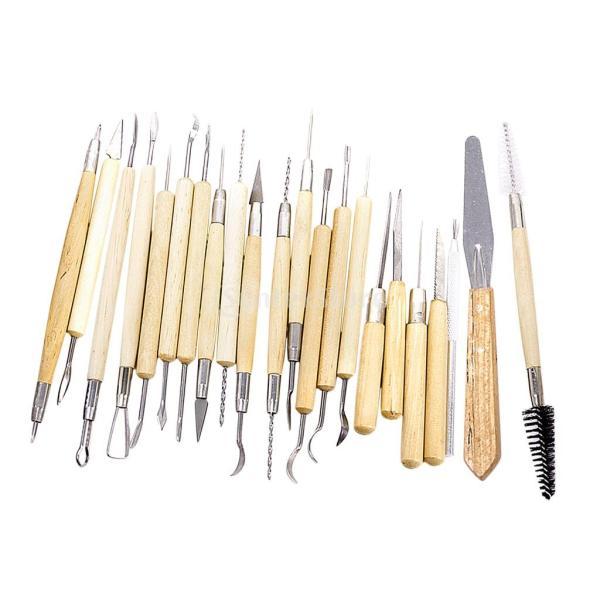 ノーブランド品 彫刻ツール 彫刻刀 ヘラ 彫塑へら かきベラ 22本セット|stk-shop|14