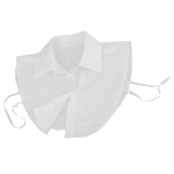 Dovewill シャツ フェイク襟 付け襟 偽襟 えり 角襟 簡単 変身 重ね着  白 快適 衣装 合わせやすい