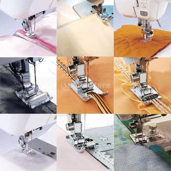 台湾輸入 ミシン 裁縫用 多機能 押さえ 押さえ足 金具 11個セット 家庭ミシン用パーツ|stk-shop|07